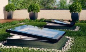 tetőbevilágitók lapostetőre