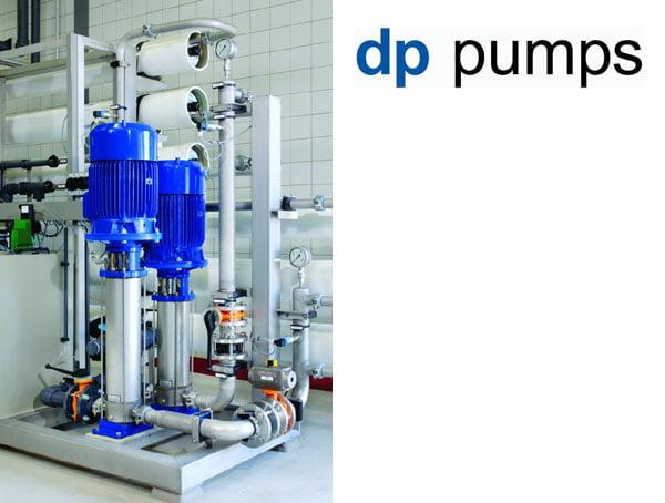 DP Pumps nyomásfokozó centrifugál szivattyúk