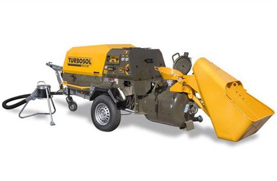 Turbosol TM 27-45 betonpumpa