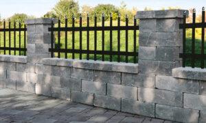Semmelrock kerítés és támfal
