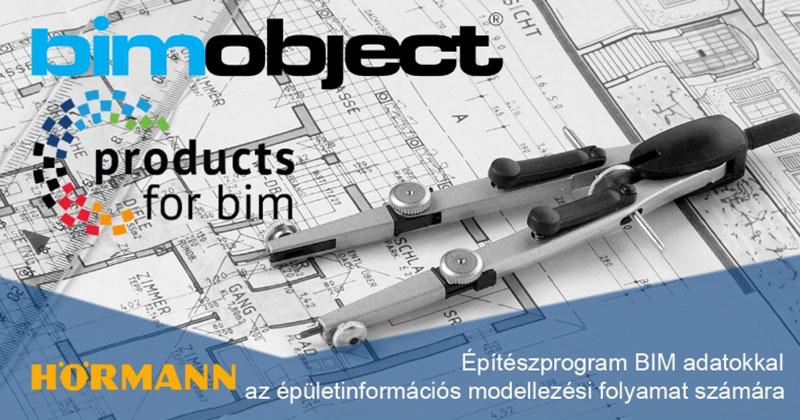 Hörmann tervezői anyagok a bimobject.com weboldalon