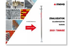 MEVA zsaluzatok, állványzatok - 2020 őszi akciós kiadvány