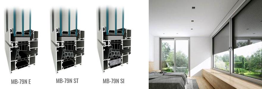 MB-79N ajtó- és ablakrendszer 12