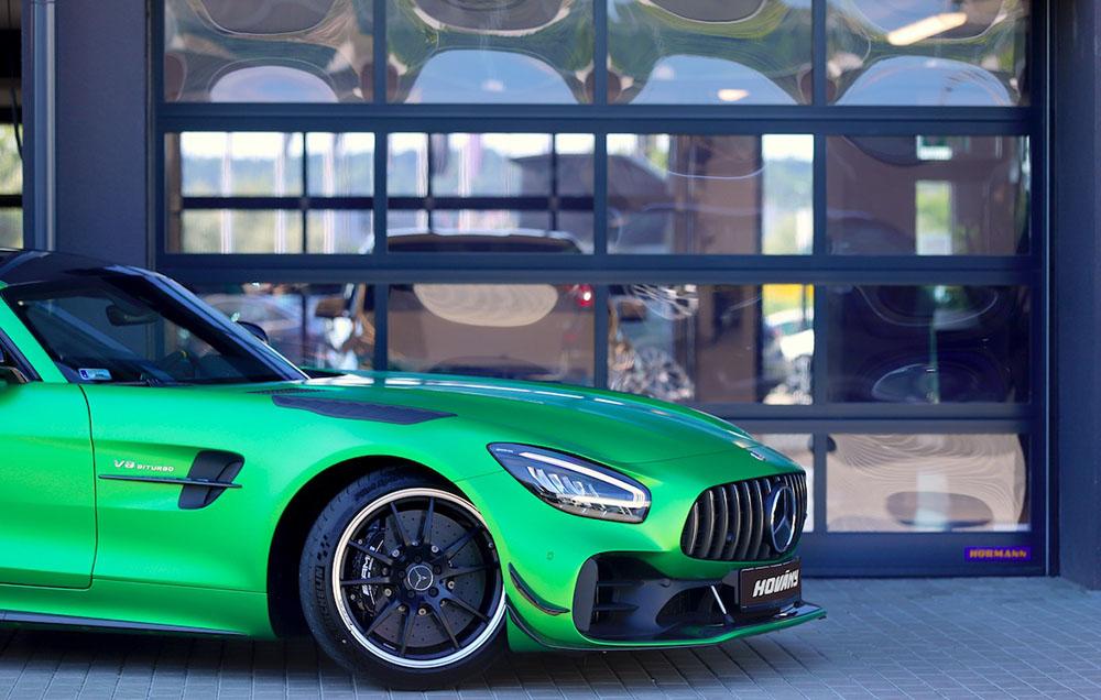 A Hörmann szállította a kapukat a Mercedes-Benz Hovány budaörsi szalonjához (3)