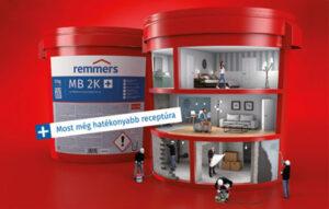 Remmers új MB 2K vízszigetelés